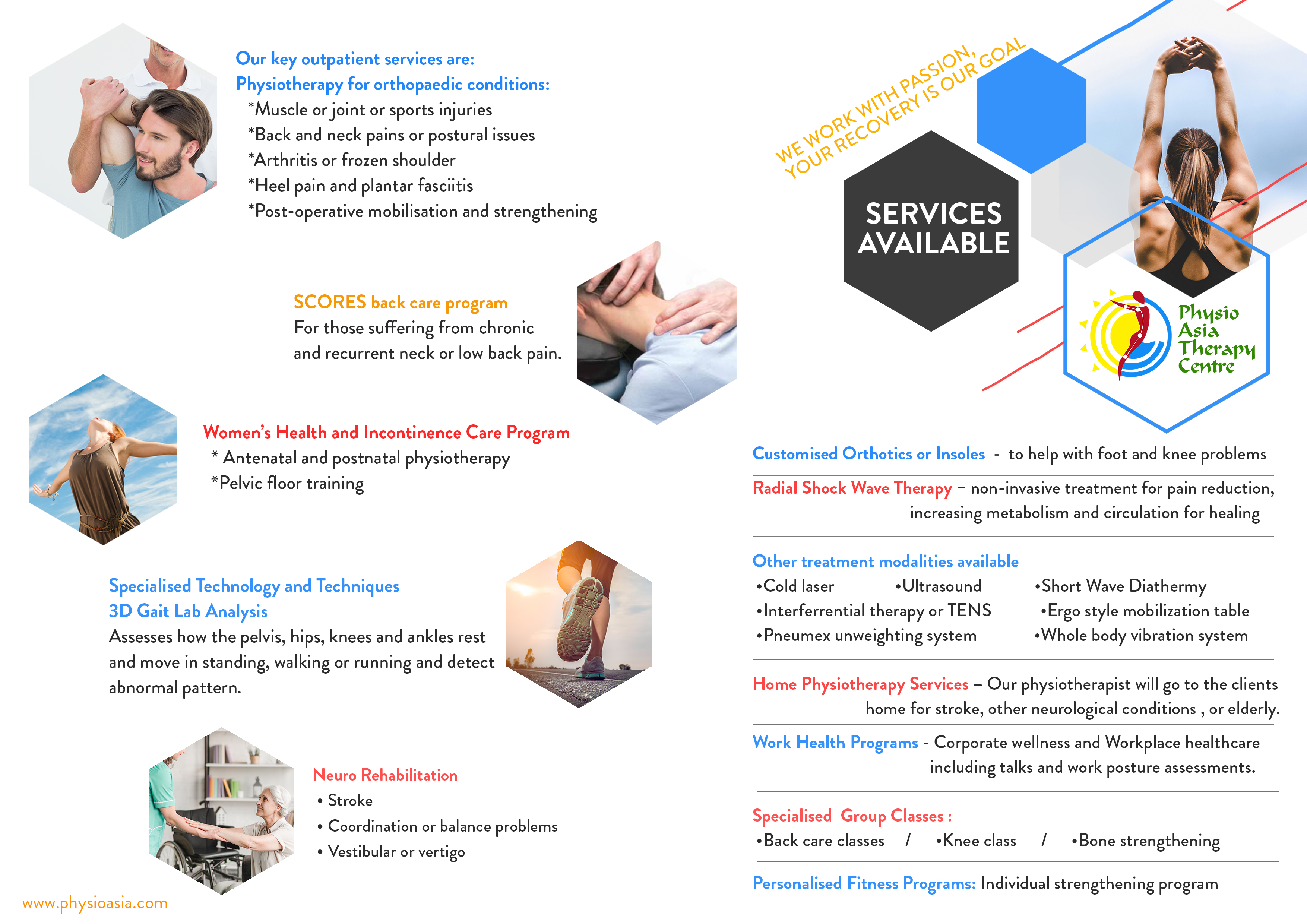 Physio Asia Services Brochure