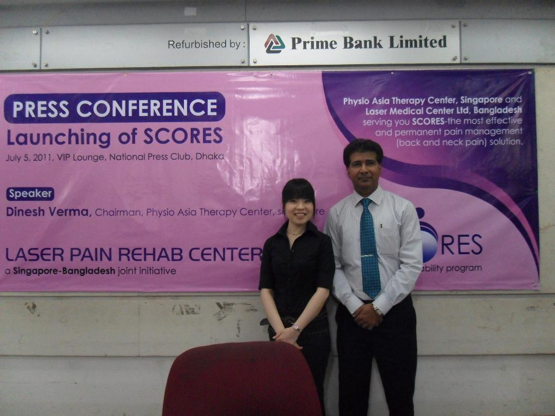 Press Conference Launching Of Scores